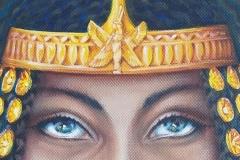 Prêtresse égyptienne  regard